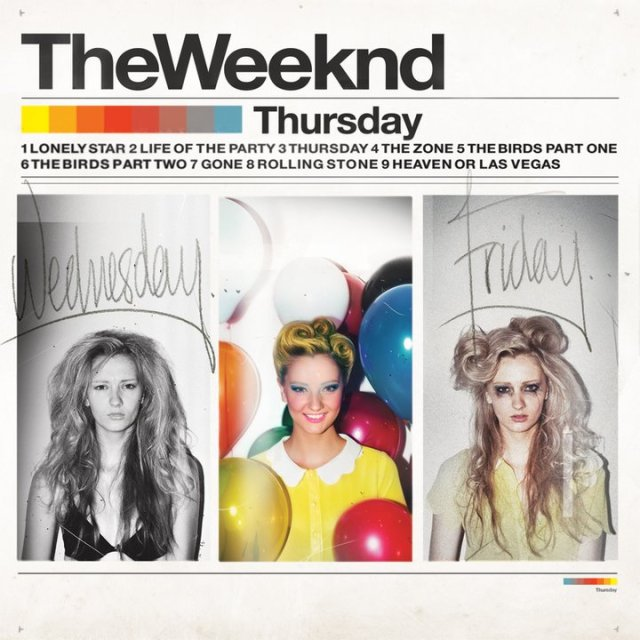 The Weeknd - Thursday Mixtape Cover