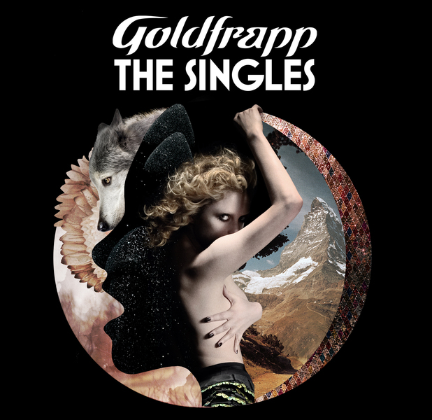 "Goldfrapp ""The Singles"" Album Cover"