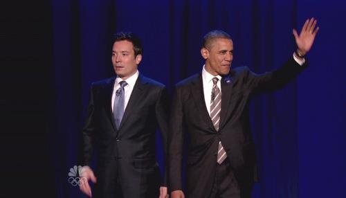 Obama, Fallon, The Roots
