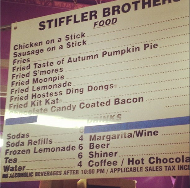 BT Stiffler Brothers Fried Lemonade Texas State Fair What the MotherFUCK?!