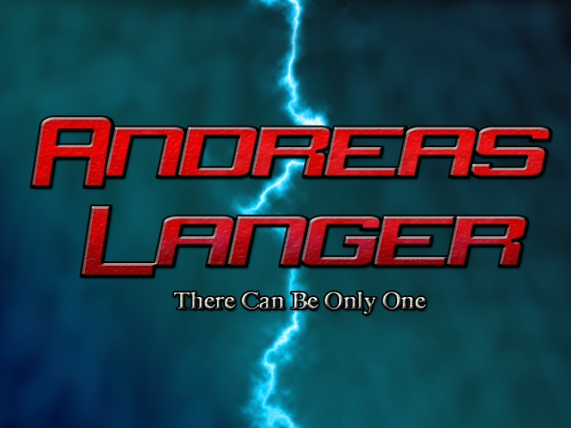 Andreas Langer There Can Be Only One