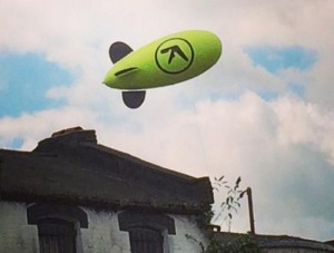 Aphex Twin 2014 Blimp
